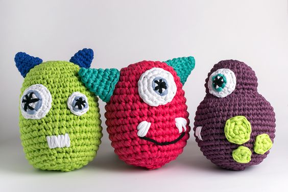 Monstruos Gachillo XXL . Crochet XXL Monsters