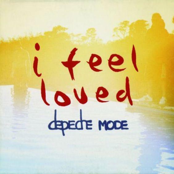 Depeche Mode – I Feel Loved (single cover art)