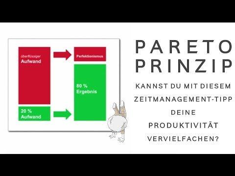 Das Pareto Prinzip 80 20 Regel Lerne Prioritaten Zu Setzen