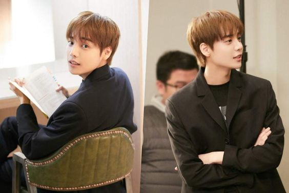 """ONE Looks Dashing Behind The Scenes On Set Of """"Her Private Life"""""""