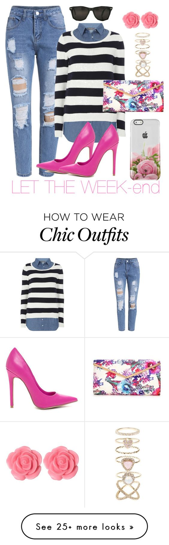 """Simple spring chik"" by misha-makeda on Polyvore featuring Dorothy Perkins, Dollydagger and Accessorize"