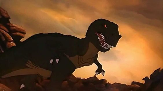 Copy Of Land Before Time Sharptooth Attack And Earthquake210 Land Before Time Cartoon Animation