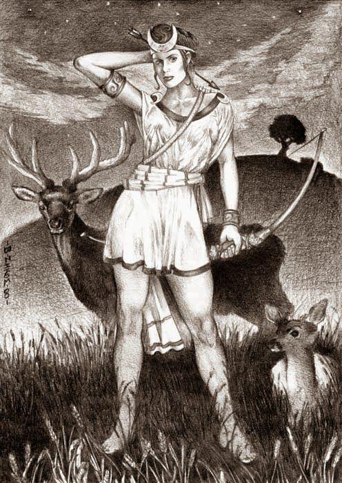Samari Luz: Oración a Artemisa