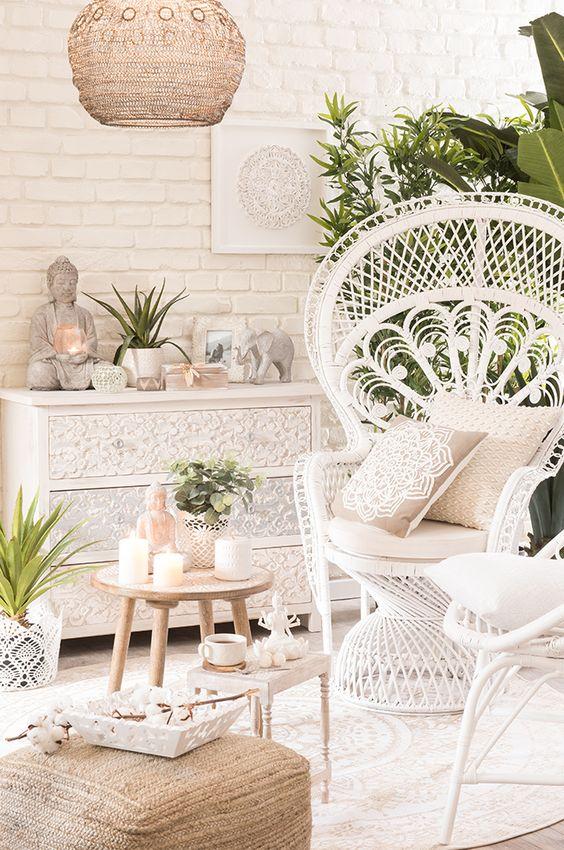 Tendencia decorativa White Island - Un bonito ambiente requiere planificación | Maisons du Monde