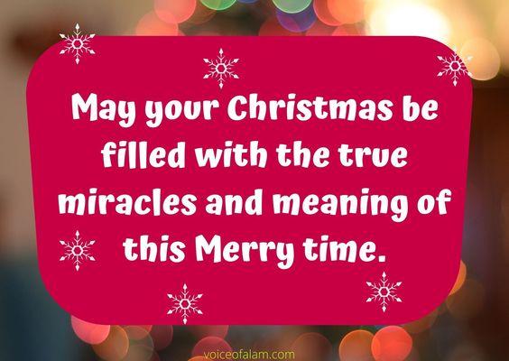 Merry Christmas Images, Quotes, Wishes 2019 - Hindi Shayari, Urdu Shayari and Poetry - VoiceofAlam