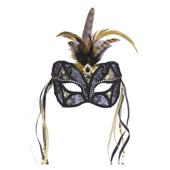 Masquerade Ball Dress Mask Looks Suitable For Your Sweet 16 Party ❤ liked on Polyvore