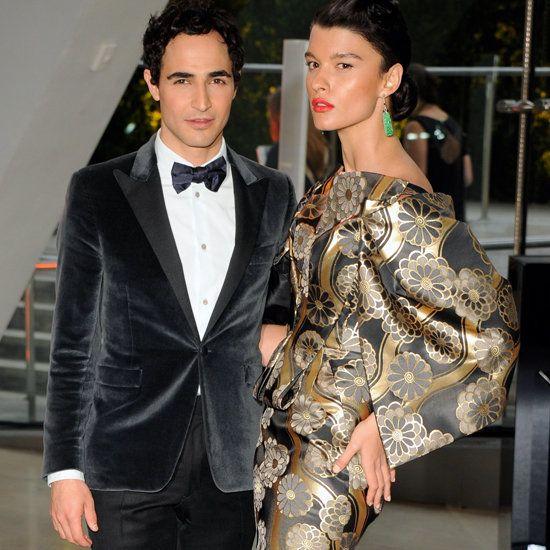 CFDA Awards 2012, Zac Posen & Crystal Renn: Jacket, Carpet Pictures, Red Carpets, Posen Crystal, Crystal Renn