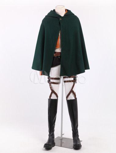 Chic Rivaille/Levi Cosplay Attack On Titan Costume - Milanoo.com