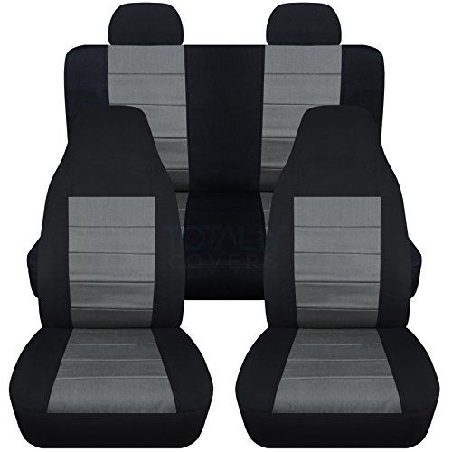 2002 2007 Jeep Liberty Seat Covers With Molded Adjustable Front