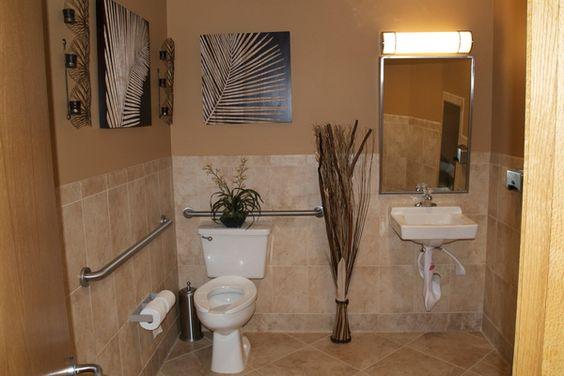 25 Small Bathroom Design Ideas: Commercial Bathroom Design Ideas