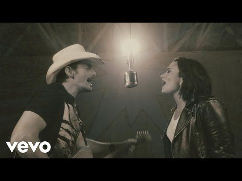 WATCH: Demi Lovato Talks Collaboration With Brad Paisley « Country Music News…