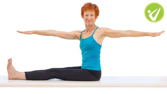 Spine Twist Pilates Exercise - Adrianne Crawford
