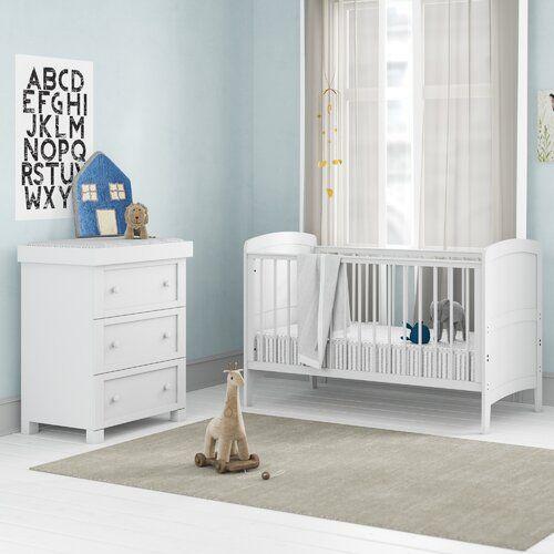 Cot Bed 2 Piece Nursery Furniture