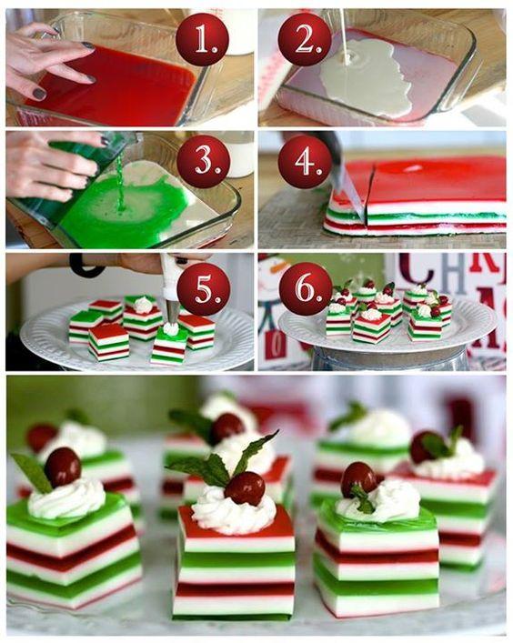 Un dessert de Noël... 18 ans et PLUS! Jell-O shots de houx! - Cuisine - Des trucs et des astuces pour vous faciliter la vie dans la cuisine - Trucs et Bricolages - Fallait y penser !