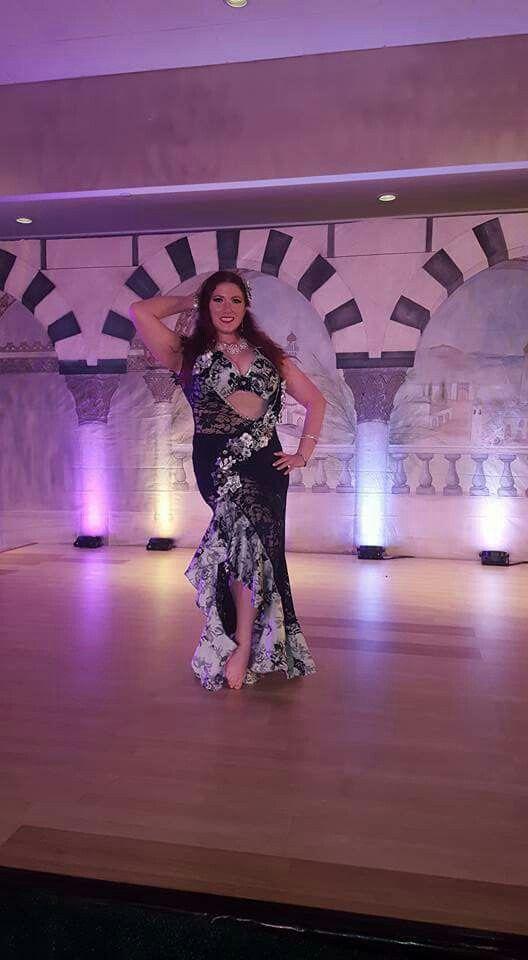 Oriana Bellydance in a Klein Dance Creation costume at Bellydance Masters 2016