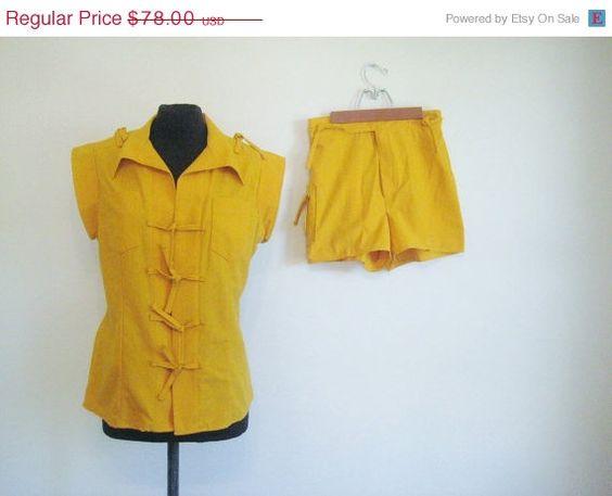 40 Off Sale Vintage 60's Squash Harvest by perniejaynevintage, $46.80