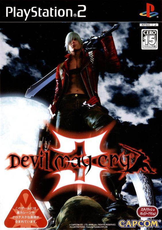 Devil May Cry 3 - JP PS2 box art