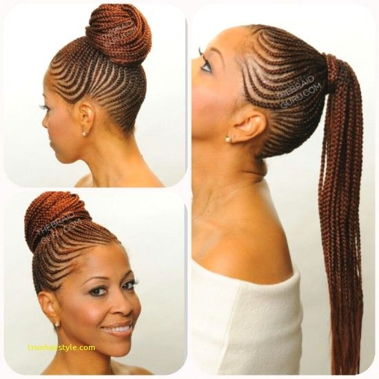 Unique Braided Straight Up Hairstyles Straight Up Hairstyles African Braids Hairstyles Cornrow Ponytail