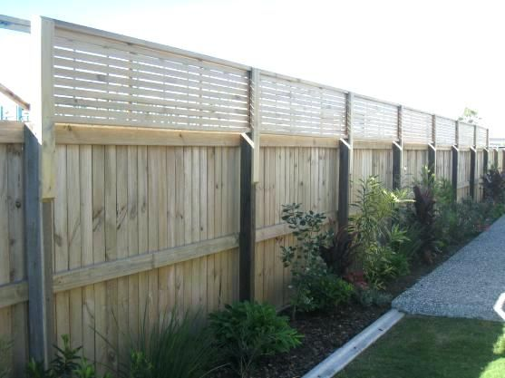 Privacy Fence Extension Ideas Fence Designs By Lattice Home Ideas
