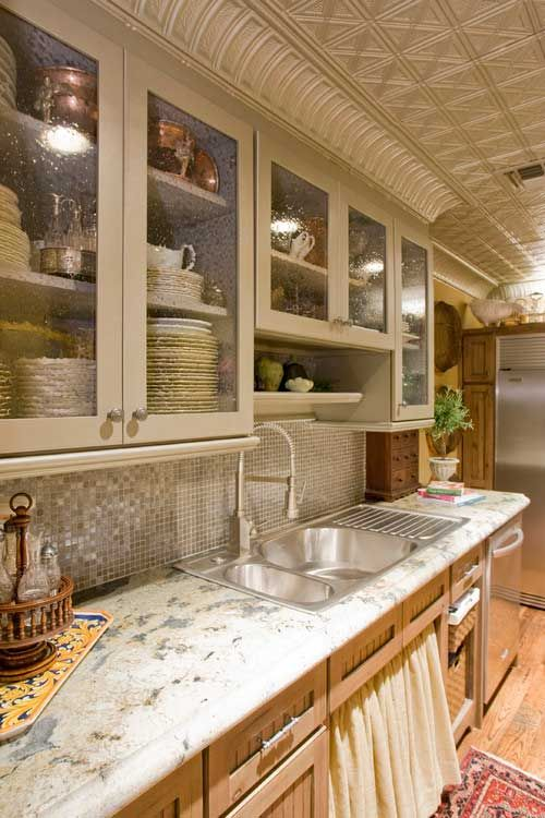 17 Charming Kitchen Cabinet Door Styles In 2020 Eclectic Kitchen Eclectic Kitchen Design Glass Cabinet Doors