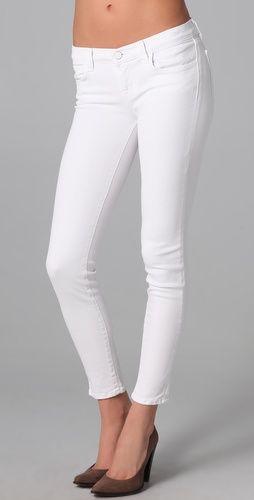 white skinnies