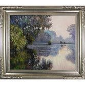 Found it at Joss & Main - Morning on the Seine near Giverny Monet Framed Print