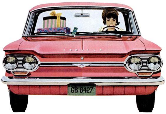 Chevrolet Corvair Monza, 1964