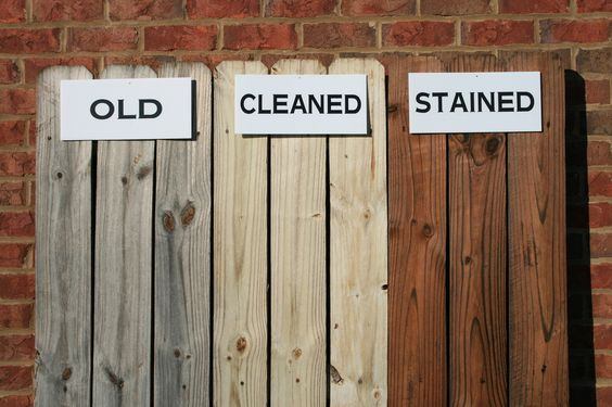 Wood Fence Paint Colors | new fence or deck the best time to stain your wooden fence or deck is ...