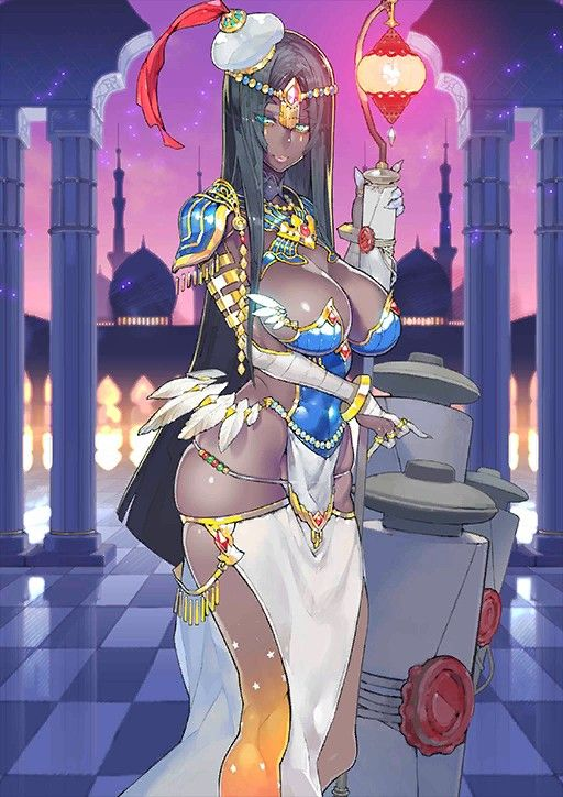 Caster Scheherazade One Thousand And One Nights Fate Anime