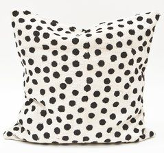 polka dot pillow from Fine Little Day