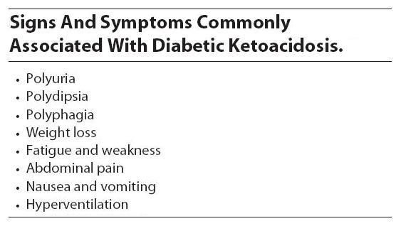 acidosis diabetes mellitus