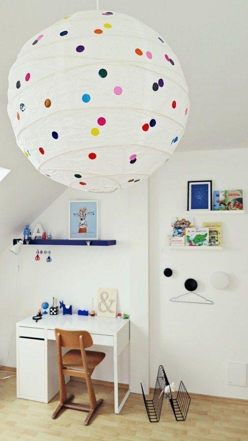 Mega Genial 5 Simple Tricks Wie Du Eine Ikea Lampe In Ein Designerstuck Verwandelst Ikea Hack Kids Kid Room Decor Ikea Lamp