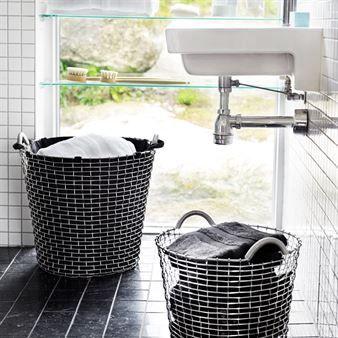 Wäschebeutel für Korbo-Korb - schwarz 65 Liter - Korbo