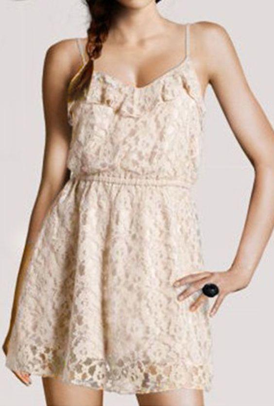 Windstruck Lace Embriodered Strap Dress  $28.99 at https://sincerelysweetboutique.com/node/101