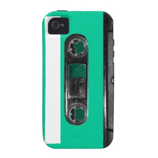 Choose Your Color Cassette Vibe iPhone 4 Covers