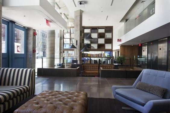 The Luxurious Nolitan Hotel In New York Lobbies Hospitality And Es