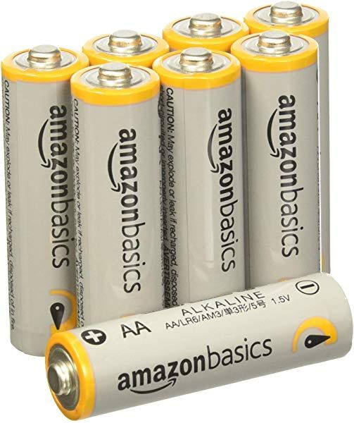 Amazonbasics 48 Count Aa High Performance Alkaline Batteries 10 Year Shelf Life Easy To Open Value Alkaline Battery Alkaline Batteries