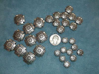 Silver Tone Metal Beads in Southwestern Motif 3 sizes 10 each https://t.co/vCRVw3jTF4 https://t.co/QpOk8FSlR5