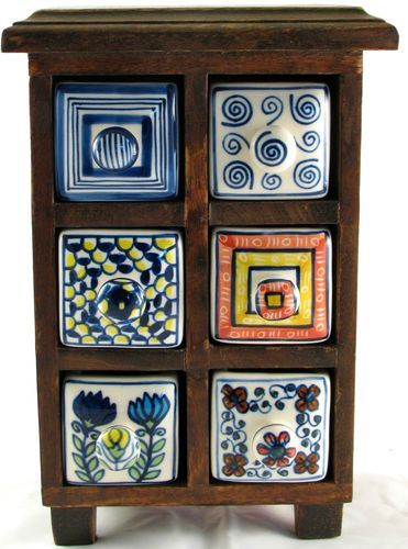 Ceramics Drawers And Spices On Pinterest