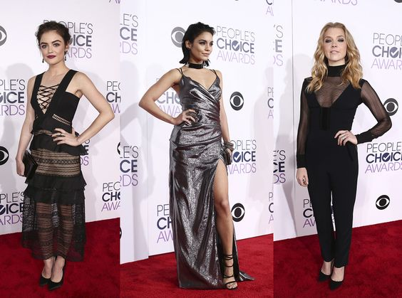 As tendências do tapete vermelho do People's Choice Awards 2016
