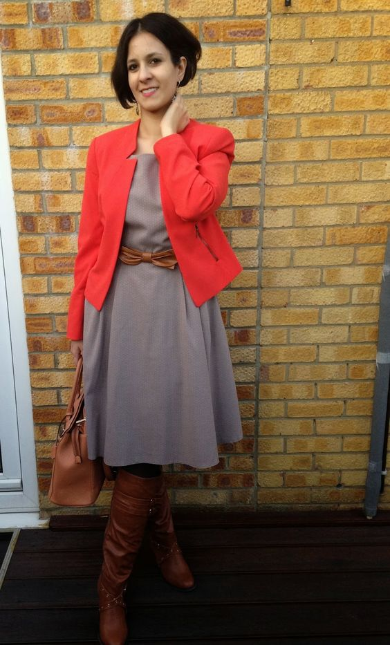 My Daily Wear : Look of the Day: Pop of Colour