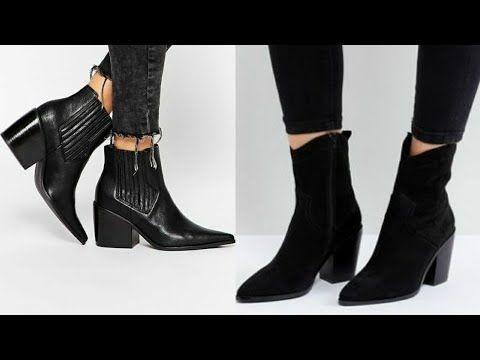 Nuevos Botines Invierno 2019 Tendencias Calzado De Moda Mujer 2019 Youtube Calzado De Moda Zapatos De Invierno Mujer Moda Para Mujer