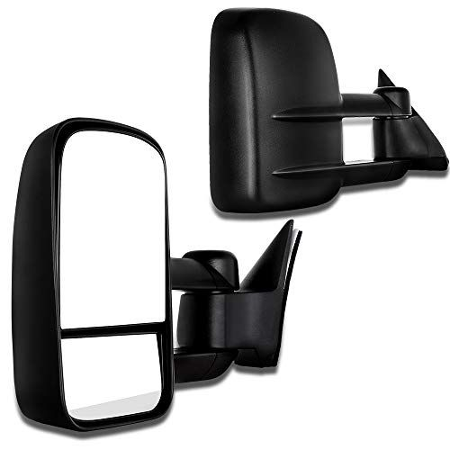 Scitoo Towing Mirrors Fit Chevy Gmc Exterior Accessories Mirrors Fit C1500 C2500 C3500 K1500 K2500 K3500 1988 1998 With Convex G Gmc Trucks Towing Mirrors Gmc