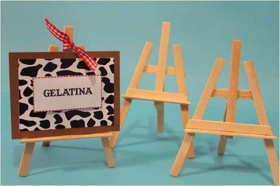 Coisas da Lívia: DIY Mini-cavalete: