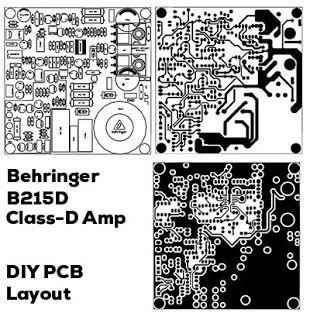 Power Amplifier Class D Irs20957 Behringer B215d Power Amplifiers Amplifier Class D Amplifier