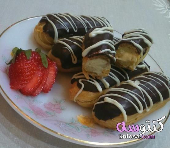 طريقة عمل الاكلير أنجح طريقة خطوة بخطوة Food Breakfast Pancakes