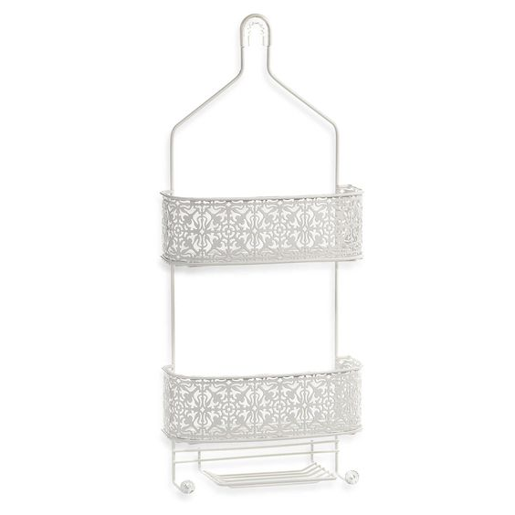 """Lace Shower Caddy 