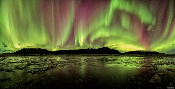 Aurora skies taken September 4, 2014 in the Tombstone Territorial Park, Yukon, Canada.