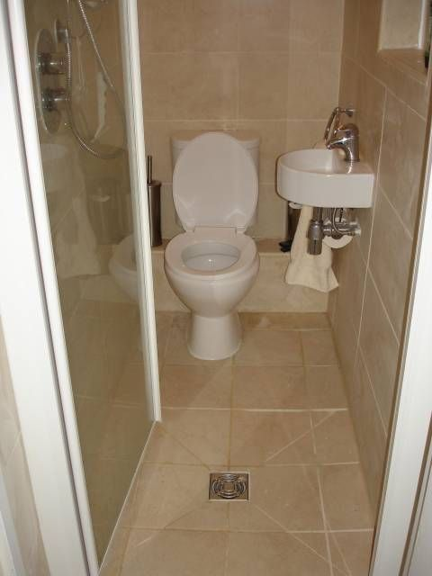 Google Image Result For Www Gfdhomeimprov Small Toilet Decorating Ideas Uk In 2020 Tiny Wet Room Small Wet Room Small Shower Room