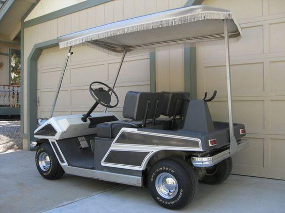 1974 Cushman Golfster Electric Golf Cart
